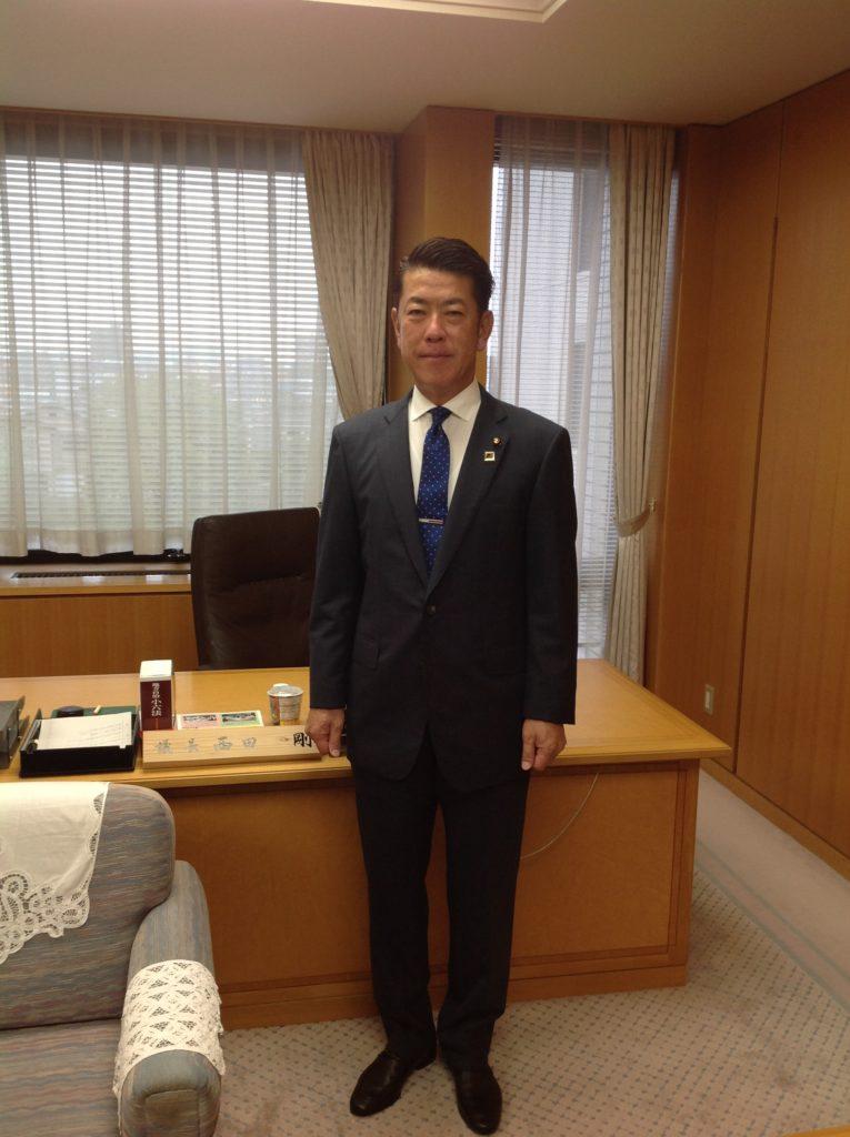 平成27年議長就任